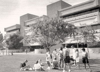 The medical school, circa 1977