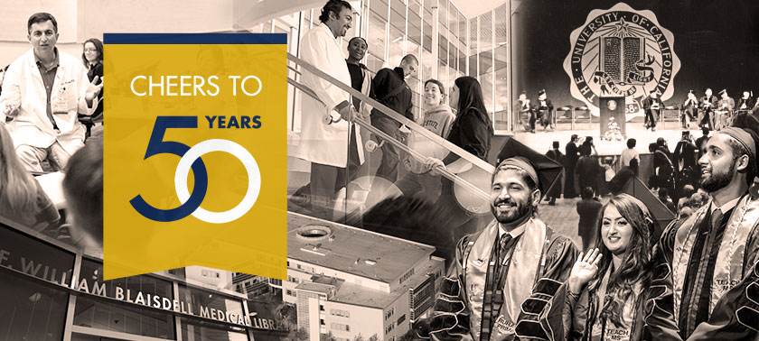 Cheers to 50 Years for the School of Medicine photo collage