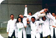 Photo of medical students