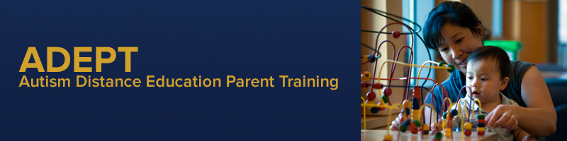 Autism Distance Education Parent Training