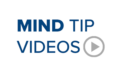 MIND Institute Tip Videos
