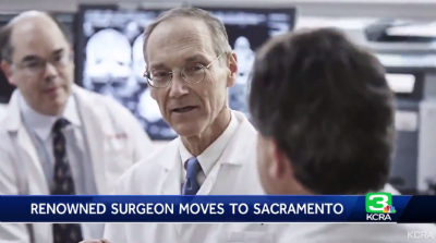 Renowned neurosurgeon moves to Sacramento