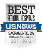 US News Best Regional Hospitals 2011-2012 badge © US News