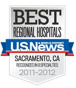 US News Best Regional Hospitals 2011-2012 badge © US News