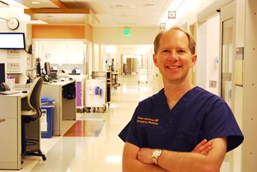 Dr. Peter Sokolove © UC Regents