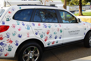 Hope on Wheels SUV © UC Regents
