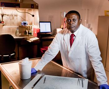 Dr. Bennet Omalu © UC Regents