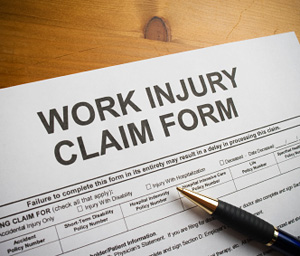 Work injury claim form © iStockphoto