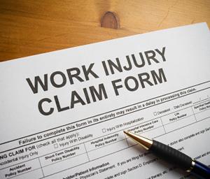 Work injury claim form © iStockphoto