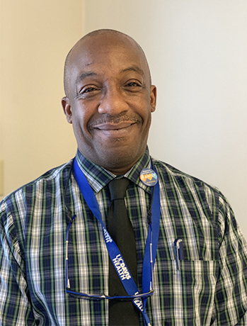 portrait of Darrell Desmond, nurse at UC Davis Health