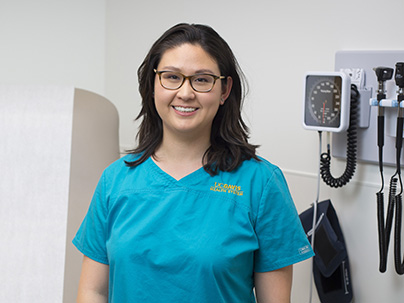 Nurse enjoys smooth transition to family nurse practitioner role