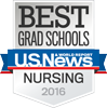 2016 top ranked nursing school by US News and World Reports