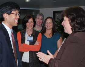 Assemblymember meets with nursing students