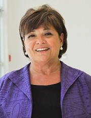 Photo of Nilda Peragallo, copyright UC Regents