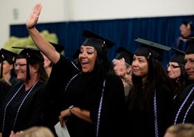 inaugural graduation celebration