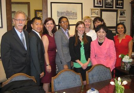 UC Davis Health System scholars meet with Doris Matsui