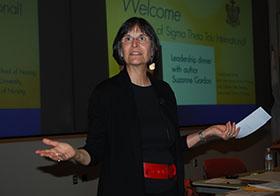 Photo of Suzanne Gordon, copyright UC Regents