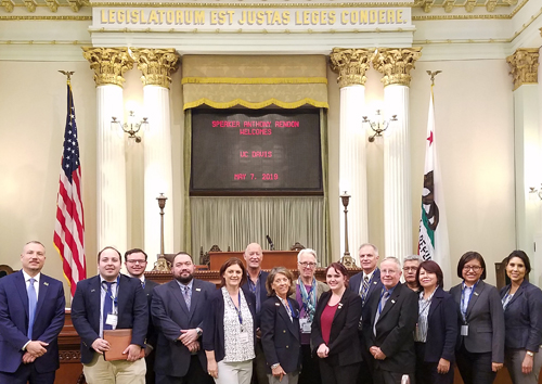 School of Nursing leader spends day at California state capitol