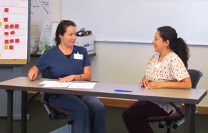 Training health coaches in primary-care clinics
