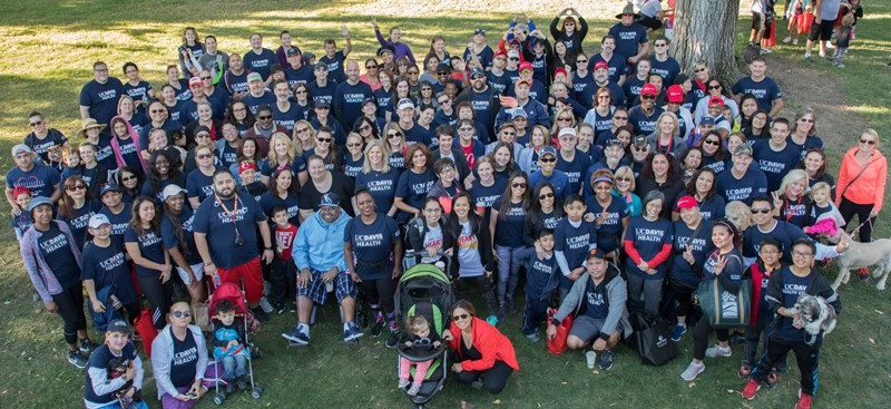 UC Davis Health Team' American Heart Association's Heart & Stroke Walk - September 23, 2017