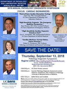 2018 Pathology Diagnostic Symposium flyer. Please select for more information on event.