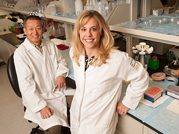 Dr. Lianguo Wang and Dr. Crystal Ripplinger