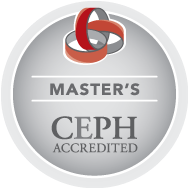 CEPH Accredited Mater's Program logo