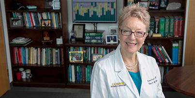 Dr. Diana Farmer, Chair of the Department of Surgery at UC Davis Health