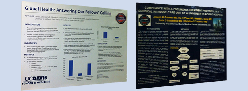 Trauma Research Investigator Poster Publications