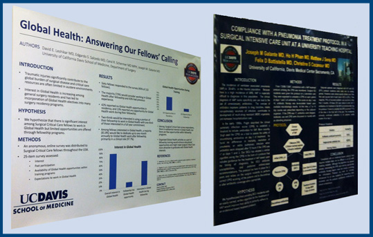 trauma research posters