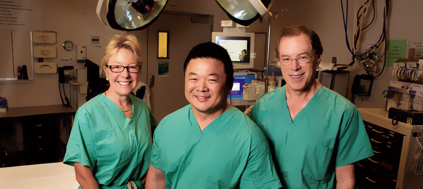 UC Davis is home to three of the country's top authorities and technicians on fetal intervention