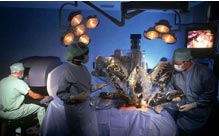 daVinci robotic surgery system