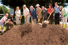 Cancer Center groundbreaking ceremony