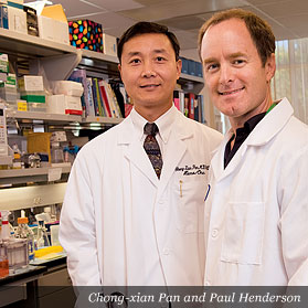 Chong-xian Pan and Paul Henderson