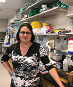 Jacqueline Barlow, assistant professor, Department of Microbiology and Molecular Genetics