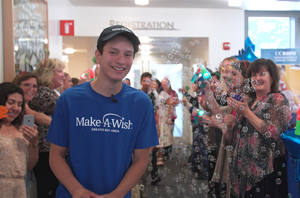 Make-A-Wish patient Saul