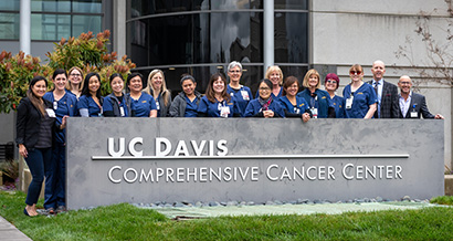 Cancer center staff