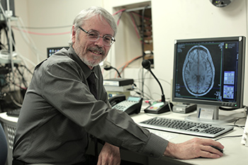 Richard Maddox with MRI