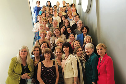 Group of women in medicine © UC Davis Health