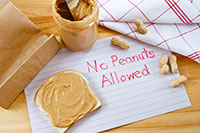 Children with allergies to peanuts should learn to recognize safe and unsafe foods.