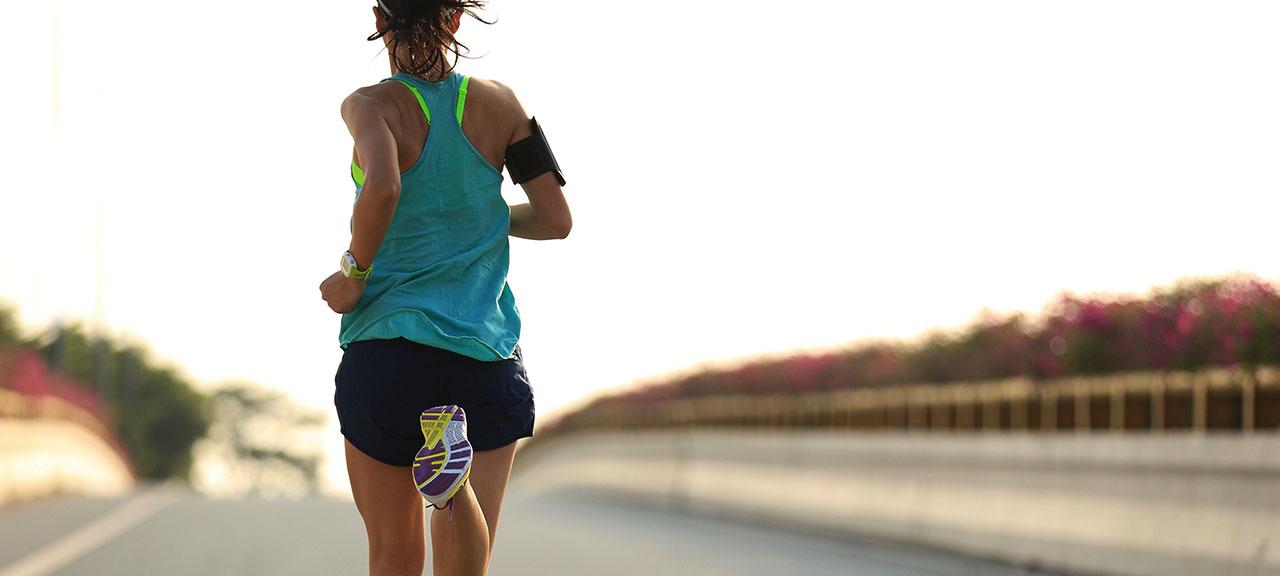 Female runner © iStock