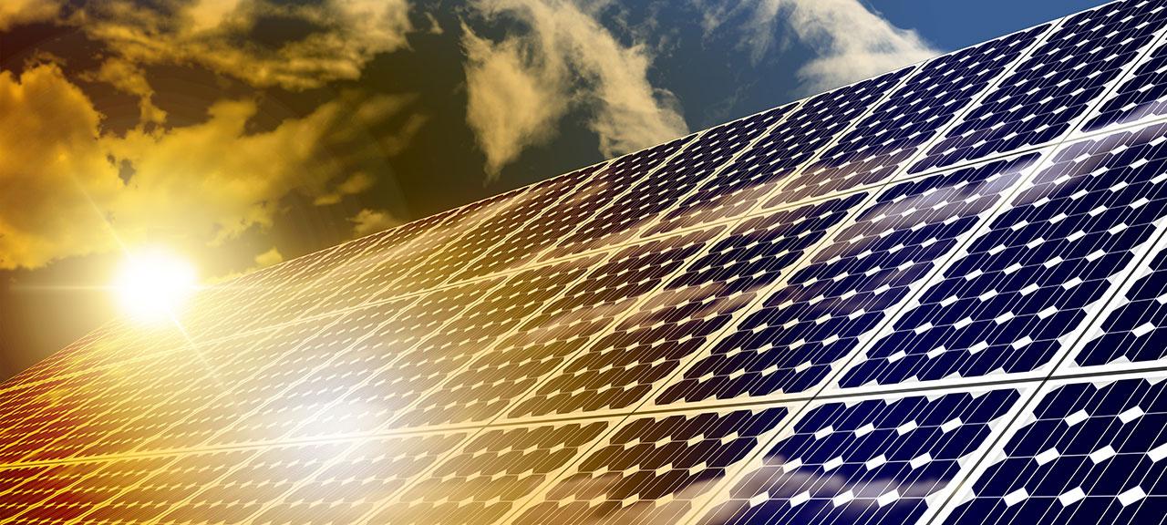 solar farm ©