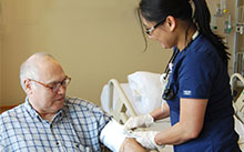 Raymond Menchaca is the first patient in Northern California to receive the new bioresorbable stent.