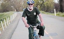 Terry Caldwell stays busy with cycling after a heart condition known as aortic valve stenosis.