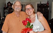 Rick Little with Diana von der Heyde