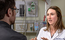 Eileen Morley, assistant director of emergency medicine at Adventist Health and Rideout Hospital