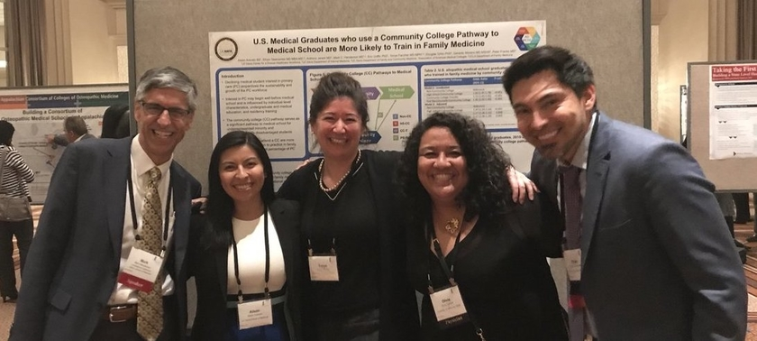 CDHW team at the 14th Annual AAMC Health Workforce Research Conference