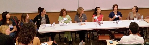 panel of health professional speakers